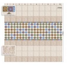 Панель ПВХ Век Маракеш матовая - длина 2.7м