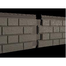 Фасадная панель Ю-пласт Стоун Хаус S-Lock Клинкер Бежевый