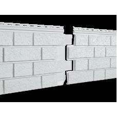 Фасадная панель Ю-пласт Стоун Хаус S-Lock Клинкер Дымчатый