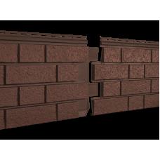 Фасадная панель Ю-пласт Стоун Хаус S-Lock Клинкер Терракотовый