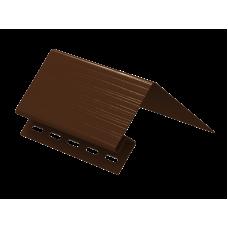 Околооконный профиль к сайдингу Ю-Пласт Коричневый