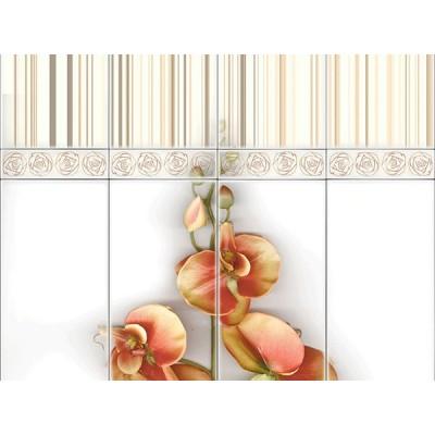 Панель ПВХ VOX (Вокс) Орхидея Беж Деко - 2.7м