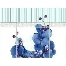 Панель ПВХ VOX (Вокс) Орхидея Блю Деко - 2.7м
