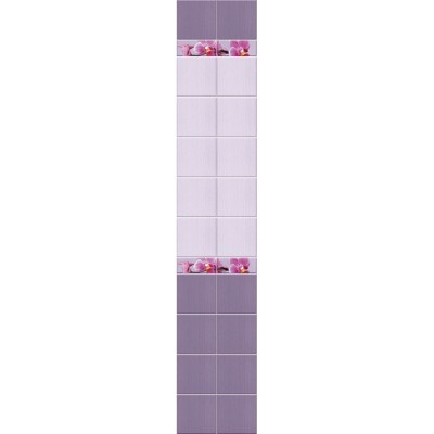 Панель ПВХ Кронапласт Unique 25см Орхидея ФОН - длина 2.7м