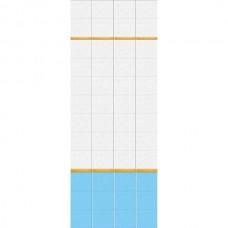 Панель ПВХ Кронапласт Unique 25см Подводный мир ФОН - длина 2.7м