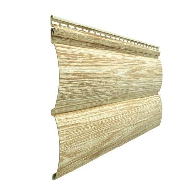 Сайдинг Docke LUX WoodSlide D4,5T Blockhouse Рябина
