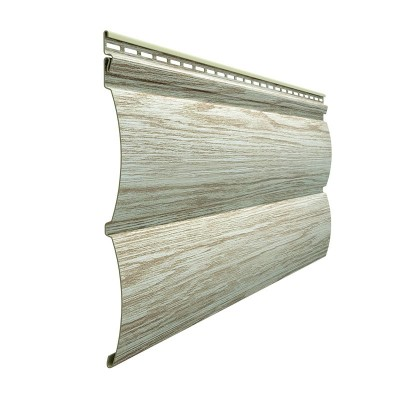 Сайдинг Docke LUX WoodSlide D4,5T Blockhouse Орех