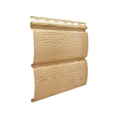 Сайдинг Ю-пласт Timberblock Дуб Золотой