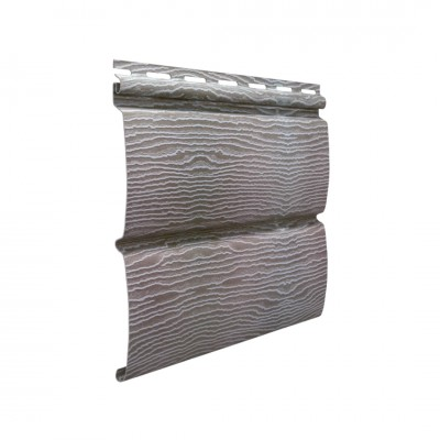 Сайдинг Ю-пласт Timberblock Дуб Серебристый