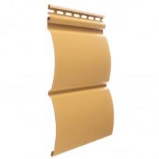 Сайдинг наружный виниловый Docke Premium Blockhouse Карамель