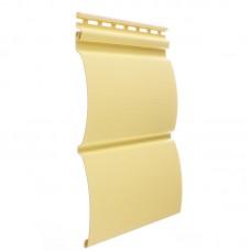 Сайдинг наружный виниловый Docke Premium Blockhouse Лимон