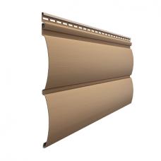 Сайдинг наружный виниловый Docke Premium Blockhouse Капучино