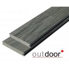 Террасная доска ДПК Outdoor 3D Storm/Old Wood Grey Серый