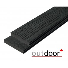 Террасная доска ДПК Outdoor 3D Storm/Old Wood Black Черный