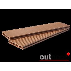 Террасная доска ДПК Outdoor Светло-коричневый