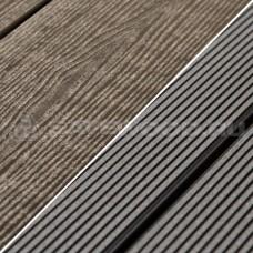 Террасная доска ДПК Savewood Abies Темно-коричневый