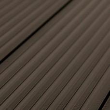 Террасная доска ДПК Savewood Quercus Темно-коричневый