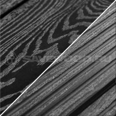 Террасная доска ДПК с тиснением Savewood Ornus (4м или 6м, распил в размер) Черный
