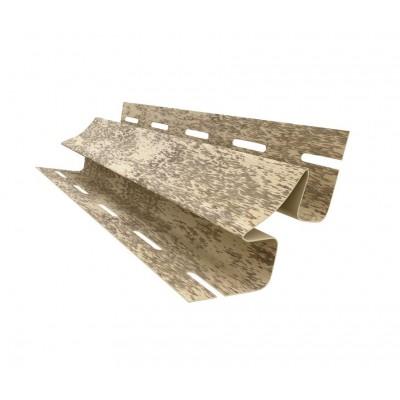 Внутренний угол к сайдингу Ю-Пласт Кирпич песочный