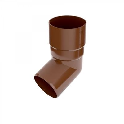 Колено (отвод) водосточной трубы Bryza 67,5 град., D-90, Коричневый