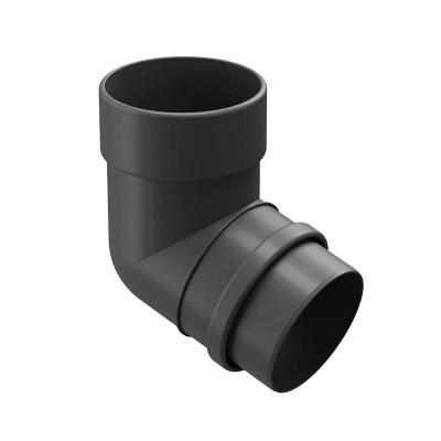 Колено водосточной трубы Docke Lux 72˚ D-100, Графит