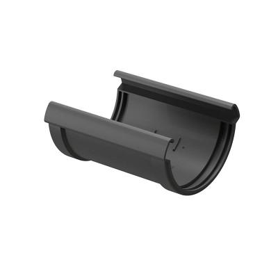 Соединитель водосточного желоба Docke Premium D-120, Графит