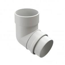 Колено водосточной трубы Docke Lux 72˚ D-100, Пломбир