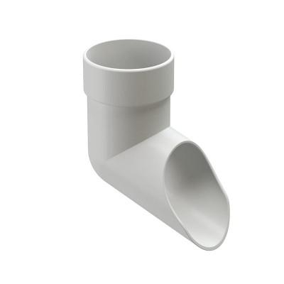 Слив (отмет) водосточной трубы Docke Lux D-100, Пломбир