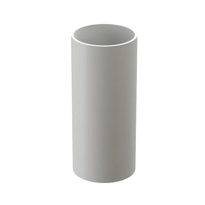 Труба водосточная Docke Lux D-100, Пломбир (1 м)