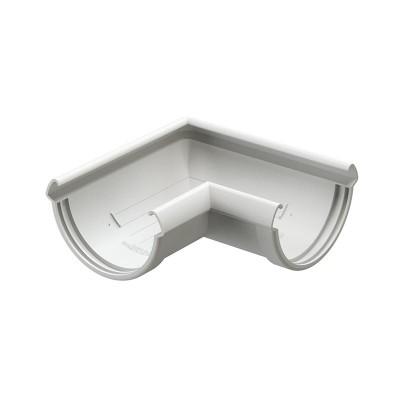 Угол водосточного желоба Docke Lux 90˚ D-141, Пломбир
