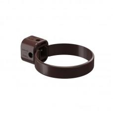 Хомут (кронштейн) водосточной трубы Docke Lux D-100, Шоколад (универс.)