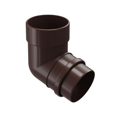 Колено водосточной трубы Docke Lux 72˚ D-100, Шоколад