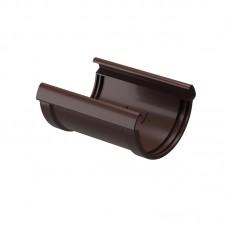 Соединитель водосточного желоба Docke Lux D-141, Шоколад