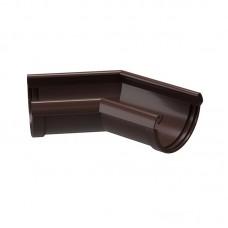 Угол водосточного желоба Docke Lux 135˚ D-141, Шоколад