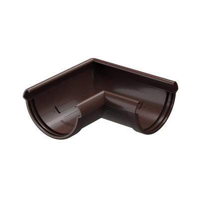 Угол водосточного желоба Docke Lux 90˚ D-141, Шоколад