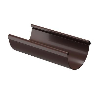 Желоб водосточный Docke Lux D-141, Шоколад