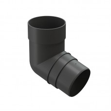 Колено водосточной трубы Docke Premium 72˚ D-85, Графит