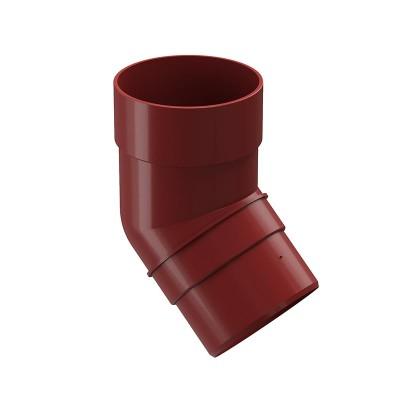 Колено водосточной трубы Docke Premium 45˚ D-85, Гранат