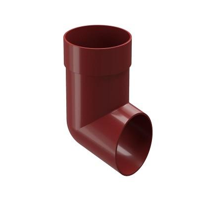 Слив (отмет) водосточной трубы Docke Premium D-85, Гранат
