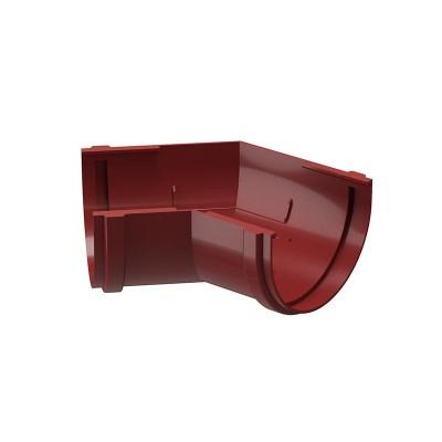 Угол водосточного желоба Docke Premium 135˚ D-120, Гранат