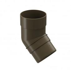 Колено водосточной трубы Docke Premium 45˚ D-85, Каштан