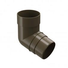 Колено водосточной трубы Docke Premium 72˚ D-85, Каштан