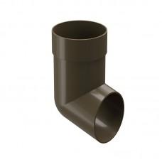 Слив (отмет) водосточной трубы Docke Premium D-85, Каштан