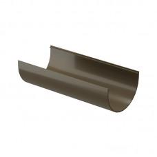 Желоб водосточный Docke Premium D-120, Шоколад (2 м)