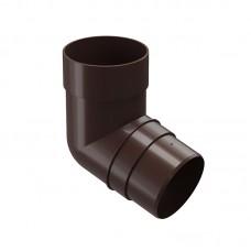 Колено водосточной трубы Docke Premium 72˚ D-85, Шоколад