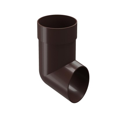 Слив (отмет) водосточной трубы Docke Premium D-85, Шоколад