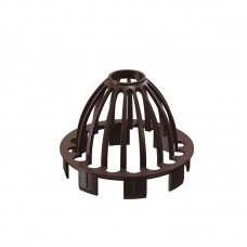Сетка для водосточной воронки Docke Premium D-85, Шоколад (металл)