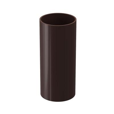 Труба водосточная Docke Lux D-100, Шоколад (3 м)