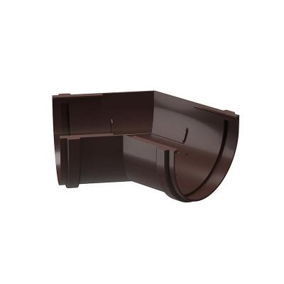 Угол водосточного желоба Docke Premium 135˚ D-120, Шоколад