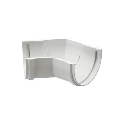 Угол водосточного желоба Docke Premium 135˚ D-120, Пломбир
